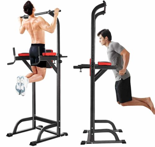 Jaketen Power Tower Pull Up Dip Station