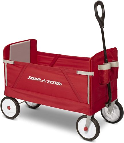 Radio Flyer Folding Wagon for Kids and Cargo