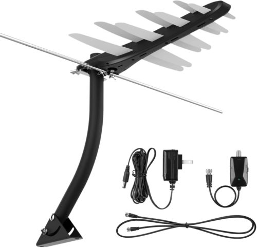 1byOne Outdoor Amplified Digital HDTV Antenna