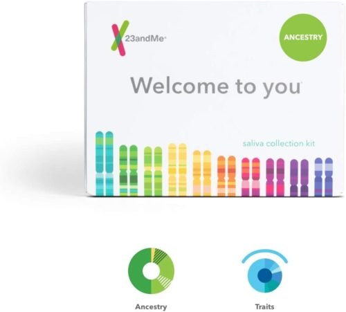 23andMe Ancestry + Traits Service Personal Genetic DNA Test Kit