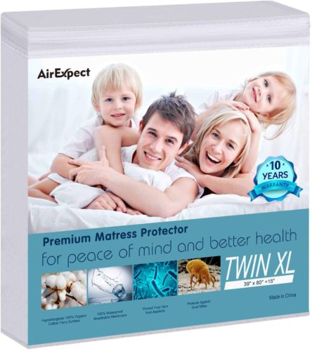 AirExpect Waterproof Mattress Protector