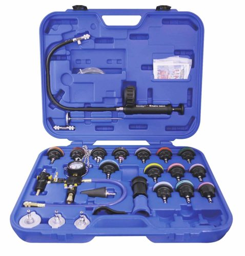 Astro Pneumatic Tool 78585 Radiator Pressure Tester and Vacuum Cooling System Kit