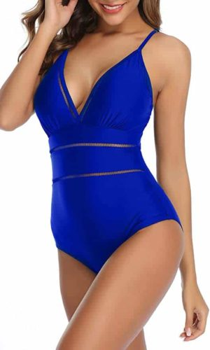 B2prity Women Monokini Tummy Control One Piece Swimsuit