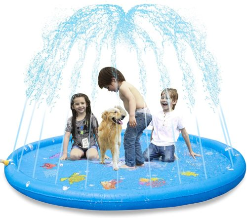 KKONES Sprinkler Pad & Splash Play Mat