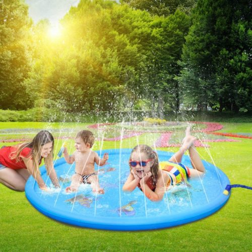 LEEHUR Sprinkler Splash Play Mat