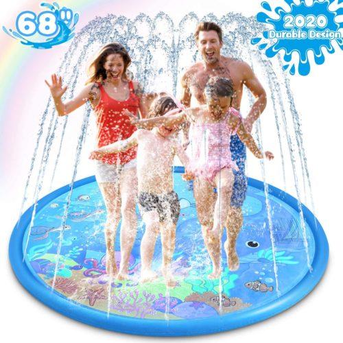 Magicfun Sprinkler & Splash Pad for Kids