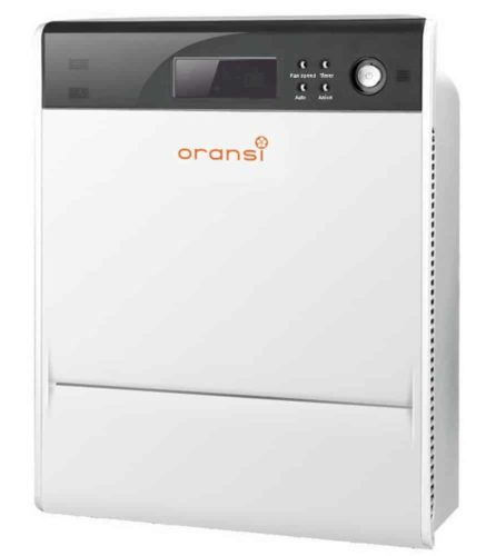 Oransi Max HEPA Large Room Air Purifier for Asthma Mold, Dust, and Allergies