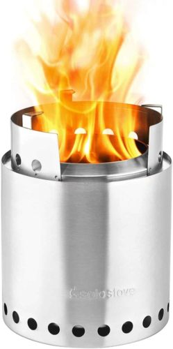 Solo Stove 4+ Person Campfire Wood Burning Stove