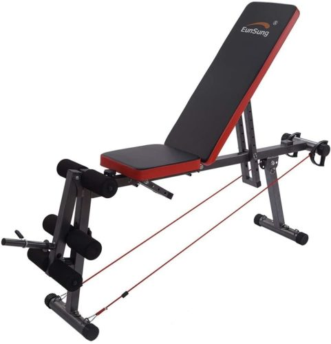 TIANMI Home Gym Adjustable Weight Bench
