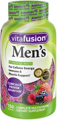 Vitafusion Men's Multivitamins