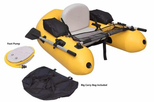 Wistar Inflatable Fishing Float Tube-009