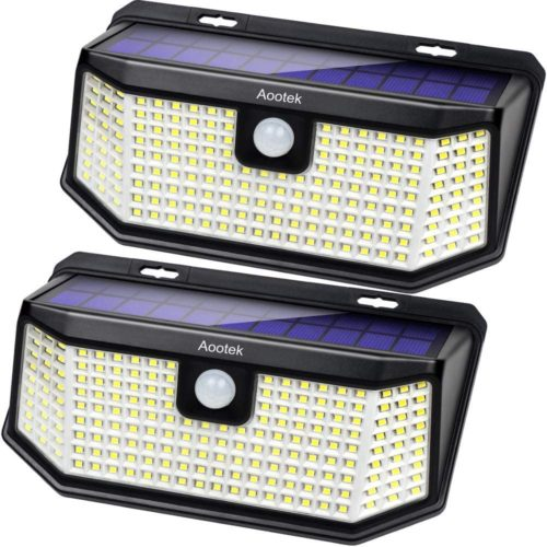 AOOTEK Solar lights 182 led