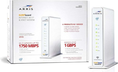 ARRIS Surfboard DOCSIS 3.0 Cable Modem and Dual-Band Router