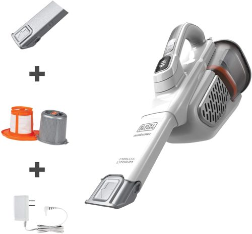 BLACK+DECKER Dustbuster Handheld Vacuum, Cordless, AdvancedClean+