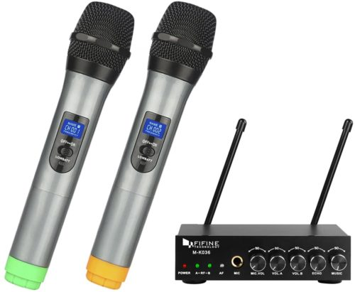 Fifine UHF Dual-Channel