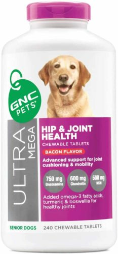GNC Ultra Mega Joint and Hip Supplement for Dogs