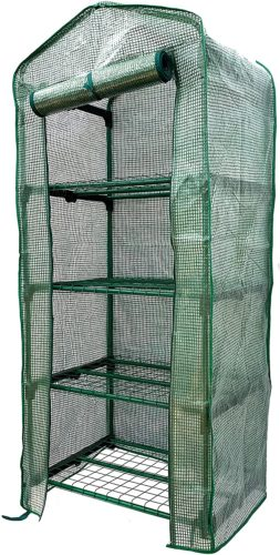 Jiiay Mini 4 Tier Portable Greenhouse