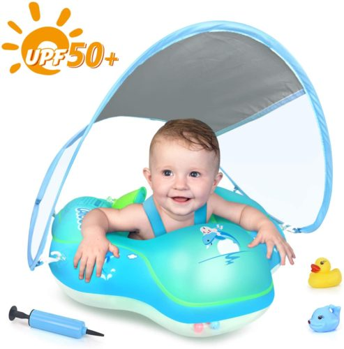 LAYCOL Baby Swimming Float Inflatable Baby Pool Float