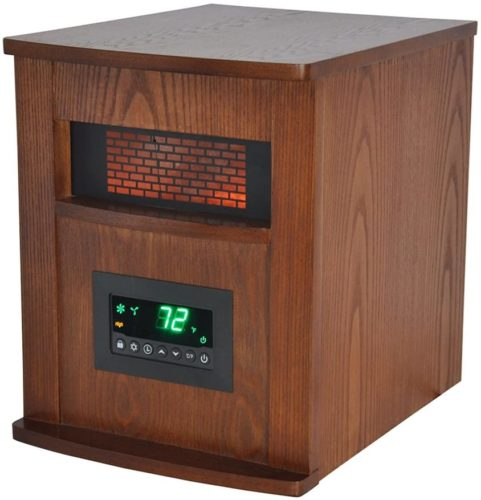 Life SMART 6 Quartz Element Large Room Infrared Heater