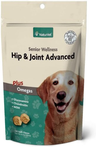 NaturVet Wellness Advanced Hip and Joint Supplement