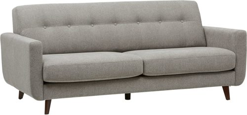 Rivet Sloane Mid-Century Modern Sofa with Tufted Back