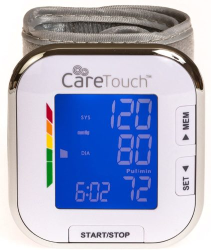 Care Touch Automatic Wrist Blood Pressure Monitor