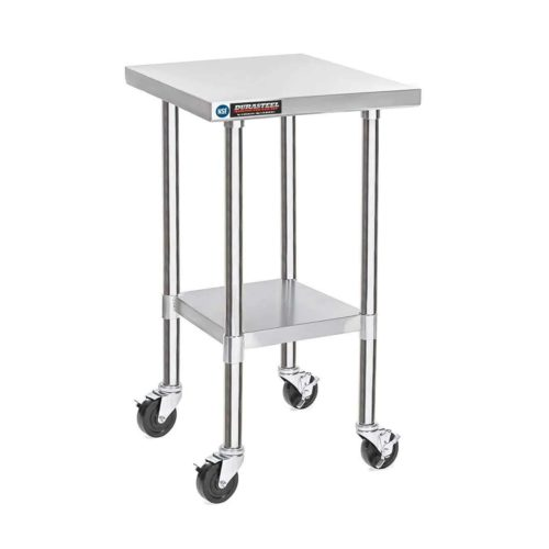 "DuraSteel Stainless Steel Work Table 24""x36""x34"""