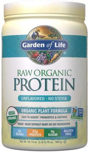 Garden of Law Organic Unflavored Protein Powder