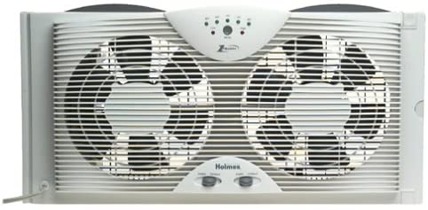 Holmes Twin Dual Blade Window Fan