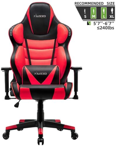 Hughouse Musso Contoured Gaming Chair