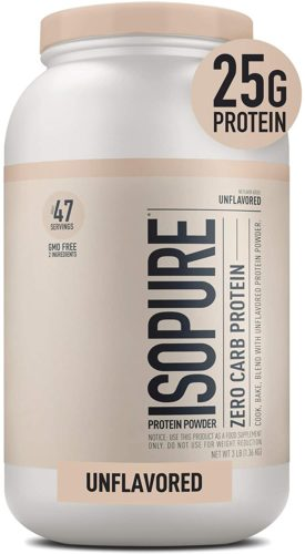 Isopure Zero Carb Unflavored Protein