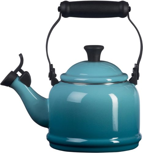 Le Creuset Q9401-17 Enamel-on-Steel Demi Teakettle