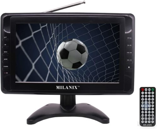 Milanix Widescreen MX9 9-inch Portable TV
