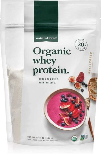 Natural Force Organic Whey Protein Powder
