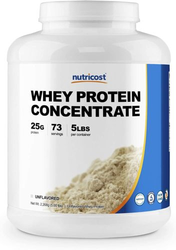 Nutricost Whey Unflavored Protein Concentrate
