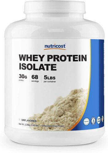 Nutricost Whey Unflavored Protein Isolate