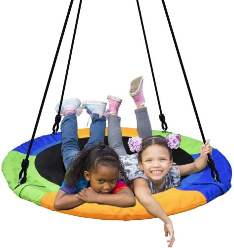 PACEARTH Saucer 40 Inch Tree Swing