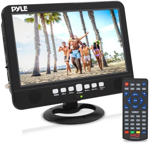 Pyle 10 Inch Windscreen Portable TV