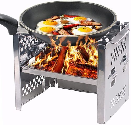 Unigear Wood Burning Camp Stoves Picnic BBQ Cooker
