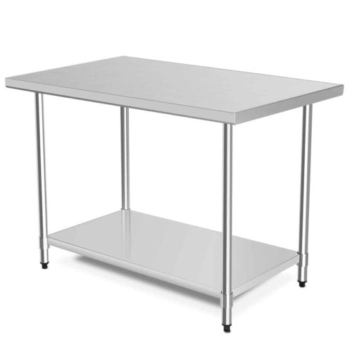 "WATERJOY NSF Stainless Steel Table 48""x30"""