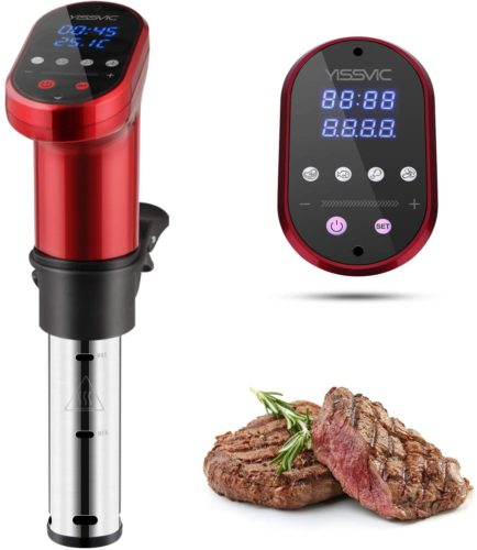 YISSVIC Sous Vide Cooker 1000W Immersion Circulator Sous Vide Vacuum Heater