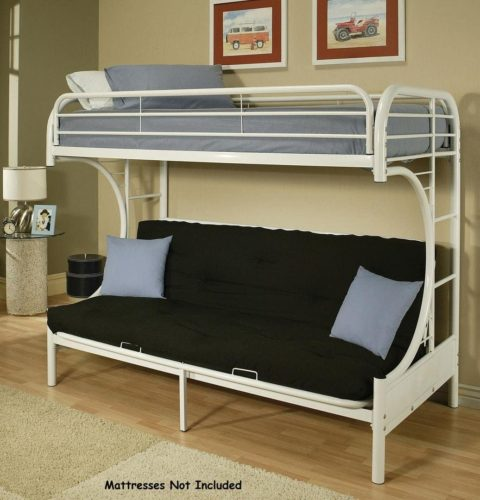 ACME Furniture 02091-W Futon Bunk Bed
