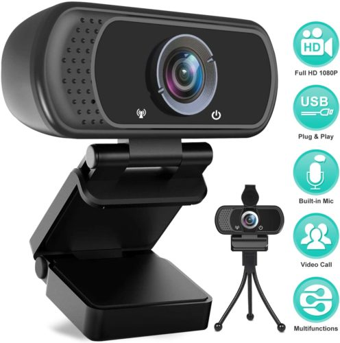 Avater HD Webcam 1080P with Microphone
