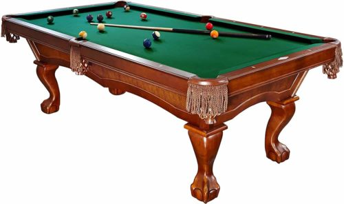 Brunswick 8-Foot Danbury Pool Table with Free Contender Play Package