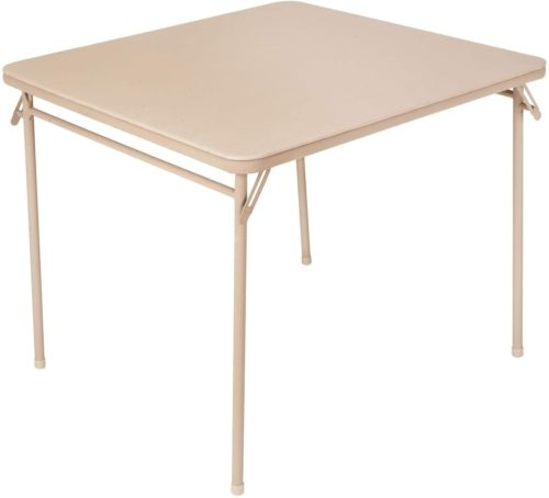 Cosco Vinyl Top Folding Card Table