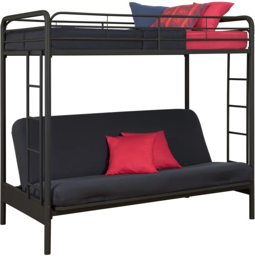 DHP Twin-Over Futon Bunk Bed