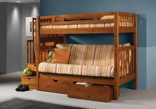 `DONCO Futon Bunk Bed