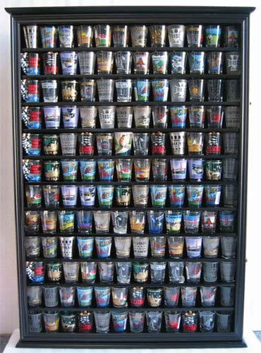 Display Gifts 144 Shot Glass Display Case