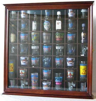 Display Gifts 41 Shot Glass Display Case