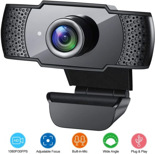 GESMA Webcam with Microphone